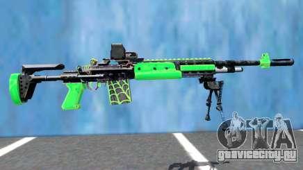 M14 EBR EOTECH VENOM для GTA San Andreas