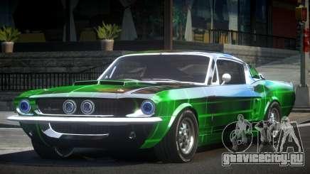 Shelby GT500 BS Old L2 для GTA 4