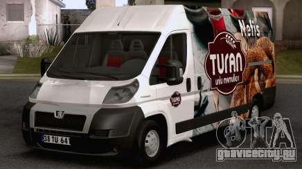 Peugeot Boxer (Turkish Bakery Car) для GTA San Andreas