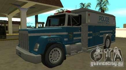 Enforcer HQ do GTA 3 New York Police Dept для GTA San Andreas