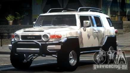 Toyota FJ Cruiser OR L10 для GTA 4