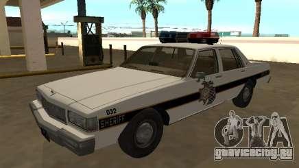 Chevrolet Caprice 1987 Eaton County Sheriff Patr для GTA San Andreas