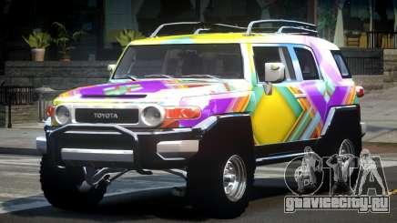 Toyota FJ Cruiser OR L3 для GTA 4