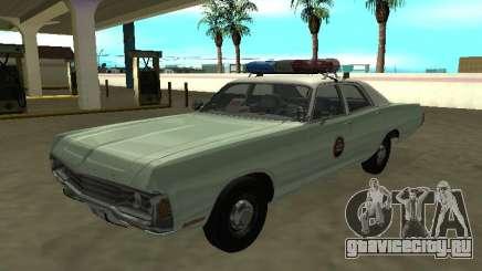 Dodge Polara 1972 US Border Patrol для GTA San Andreas