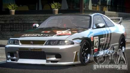 Nissan Skyline R33 BS L1 для GTA 4