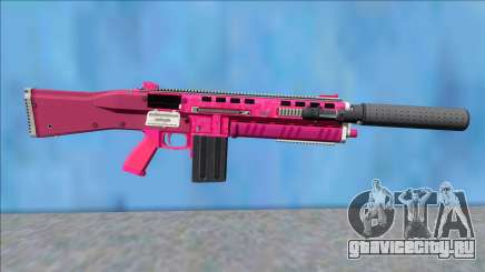 GTA V Vom Feuer Assault Shotgun Pink V2 для GTA San Andreas