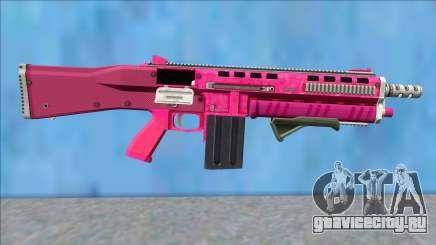 GTA V Vom Feuer Assault Shotgun Pink V10 для GTA San Andreas
