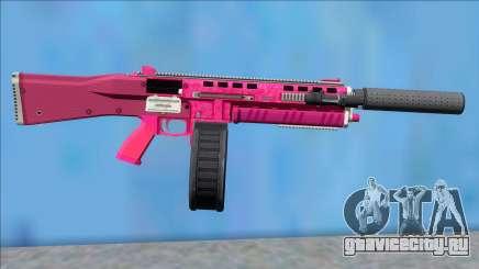 GTA V Vom Feuer Assault Shotgun Pink V1 для GTA San Andreas