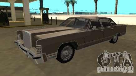 Lincoln Continental Town Car 1979 4 portas для GTA San Andreas