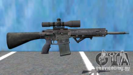 PAYDAY 2 Little-Friend 762 Sniper для GTA San Andreas