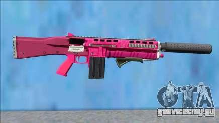 GTA V Vom Feuer Assault Shotgun Pink V4 для GTA San Andreas