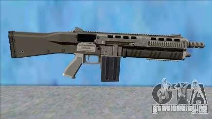 GTA V Vom Feuer Assault Shotgun Platinum V15 для GTA San Andreas