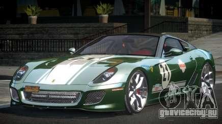 Ferrari 599 GTO Racing L1 для GTA 4