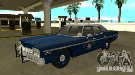 Dodge Monaco 1974 Nevada Highway Patrol для GTA San Andreas