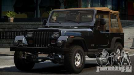 Jeep Wrangler 80S для GTA 4