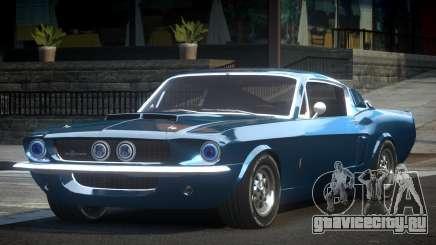 Shelby GT500 BS Old для GTA 4