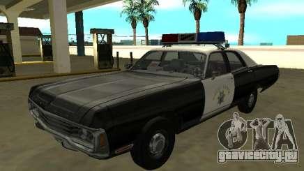 Dodge Polara 1972 California Highway Patrol для GTA San Andreas