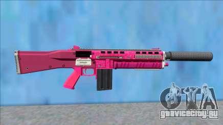 GTA V Vom Feuer Assault Shotgun Pink V8 для GTA San Andreas