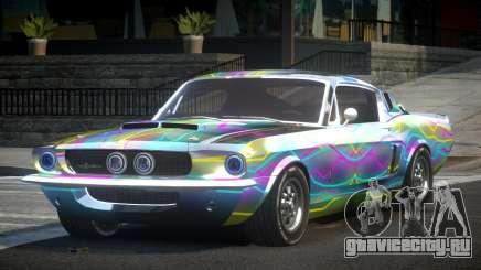 Shelby GT500 BS Old L5 для GTA 4