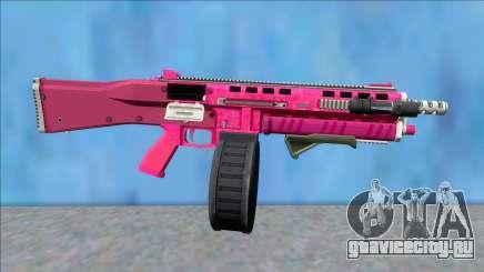 GTA V Vom Feuer Assault Shotgun Pink V5 для GTA San Andreas
