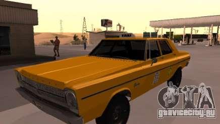 Plymouth Belvedere 4 doors 1965 Taxi для GTA San Andreas