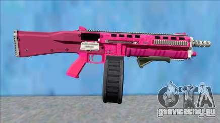 GTA V Vom Feuer Assault Shotgun Pink V9 для GTA San Andreas