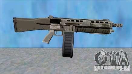 GTA V Vom Feuer Assault Shotgun Platinum V14 для GTA San Andreas