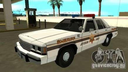Ford LTD Crown Victoria 1991 Jefferson County для GTA San Andreas
