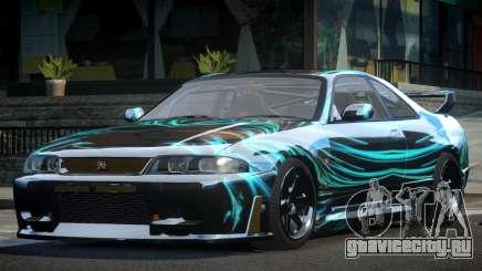 Nissan Skyline R33 BS L8 для GTA 4