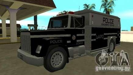 Enforcer HQ do GTA 3 Los Angeles Police Dept для GTA San Andreas
