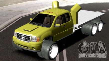 GMC Sierra Lifted Truck для GTA San Andreas