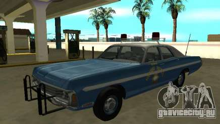 Dodge Polara 1972 Nevada Highway Road Patrol для GTA San Andreas