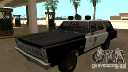 Plymouth Belvedere 1965 Station Wagon LAPD для GTA San Andreas