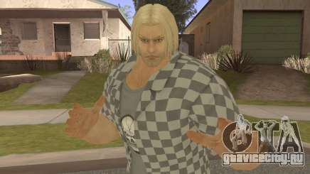 Paul Biker Shortcut Hair V2 для GTA San Andreas