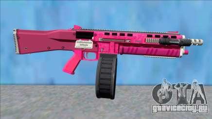 GTA V Vom Feuer Assault Shotgun Pink V11 для GTA San Andreas