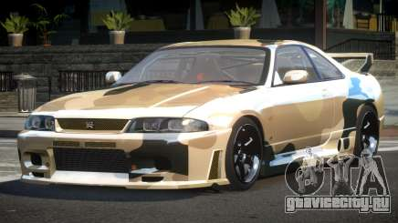 Nissan Skyline R33 BS L2 для GTA 4