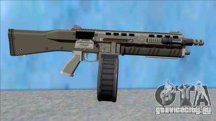 GTA V Vom Feuer Assault Shotgun Platinum V11 для GTA San Andreas
