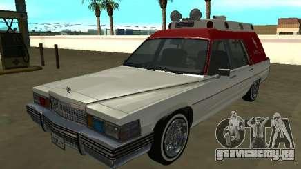 Cadillac Superior 1977 (Emperor) Ambulance для GTA San Andreas