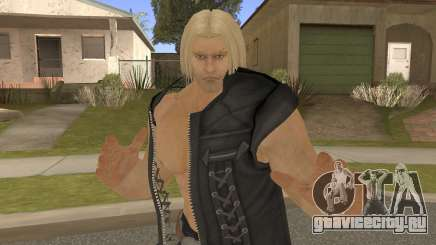Paul Shortcut Hair with Vendetta Pants V2 для GTA San Andreas