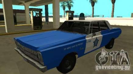 Plymouth Belvedere 4 door 1965 Chicago Police De для GTA San Andreas