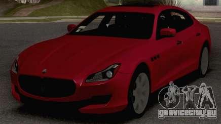 2015 Maserati Quattroporte GTS для GTA San Andreas