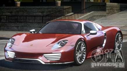 Porsche 918 Spyder PSI для GTA 4