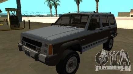 Jeep Cherokee Wagoneer Limited 1987 для GTA San Andreas