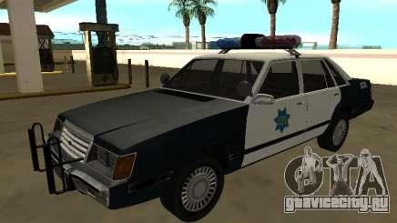 Ford LTD LX 1985 San Francisco Police dept для GTA San Andreas