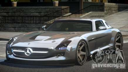 Mercedes-Benz SLS SP-A для GTA 4