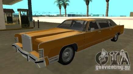 Lincoln Continental Town Car 1979 Limo для GTA San Andreas