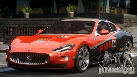 Maserati GranTurismo GS L5 для GTA 4