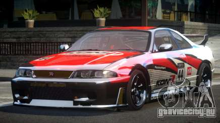 Nissan Skyline R33 BS L3 для GTA 4