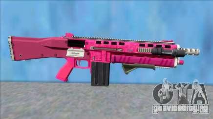 GTA V Vom Feuer Assault Shotgun Pink V6 для GTA San Andreas