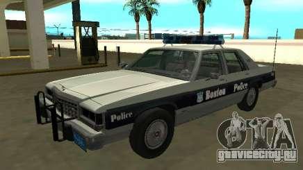 Ford LTD Crown Victoria 1987 Boston Police для GTA San Andreas